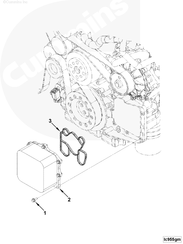 Прокладки для масляный охладитель теплообменник теплообменник на газовую колонку вр 350 в киеве